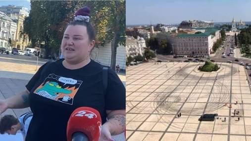 Нас красиво подставили, – Alyona Alyona после дрифта Red Bull отмывает Софийскую площадь