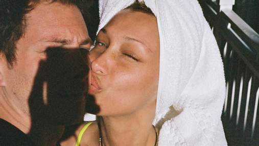 Влюбленная Белла Хадид показала редкое фото с бойфрендом