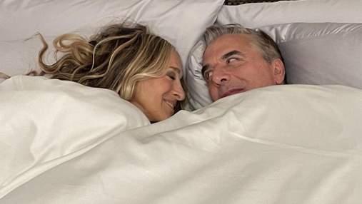 Как в старые времена, – Мистер Биг показал неожиданное фото в постели с Сарой Джессикой Паркер