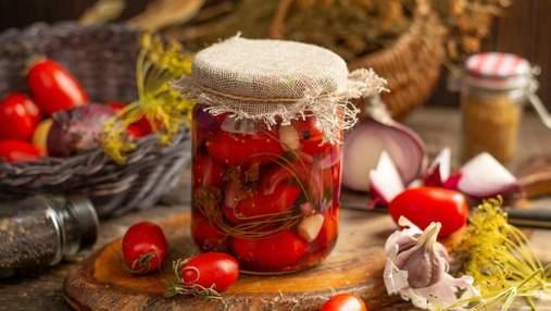 Мариновані помідори на будь-який смак: рецепти по-грузинськи, солодкі помідори та без розсолу