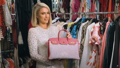 Періс Гілтон показала свою найдорожчу сумку за 65 тисяч доларів