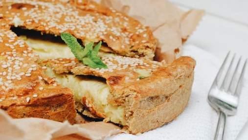 Дієтичний пиріг з цукіні та фети: ідеальна легка вечеря, яка не зіпсує вашу фігуру