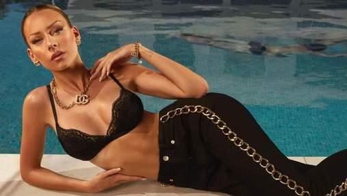 """Звезда сериала """"Элита"""" Эстер Экспосито снялась в фотосессии Dolce&Gabbana: эффектные кадры"""