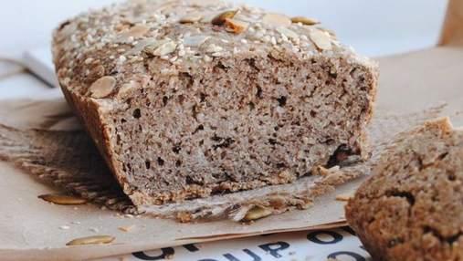 І смачно, і корисно: печемо неймовірний хліб із зеленої гречки