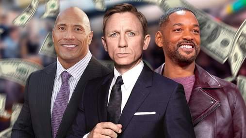 От Дэниела Крейга до Тома Круза: гонорары актеров Голливуда в 2021 году