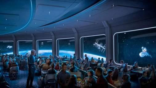 Обед на орбите: Disney открывает космический ресторан Space 220 – увлекательный видеотур