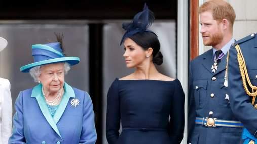 Принц Гаррі й Меган вважають, що Єлизавета II бездушно відреагувала на скандальне інтерв'ю