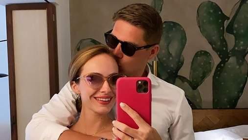Володимир Остапчук показав, як відсвяткував річницю заручин з дружиною: романтичні відео