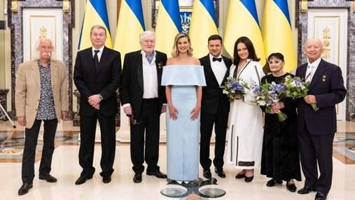 """Кэтрин Винник, Ротару и множество звезд: церемония """"Национальная легенда Украины"""" в фото"""