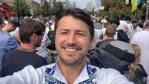 Мурашки бежали по коже, – Притула эмоционально отреагировал на Марш защитников в Киеве