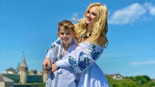 Ирина Федишин покорила сеть белоснежным платьем-вышиванкой: фото яркого образа
