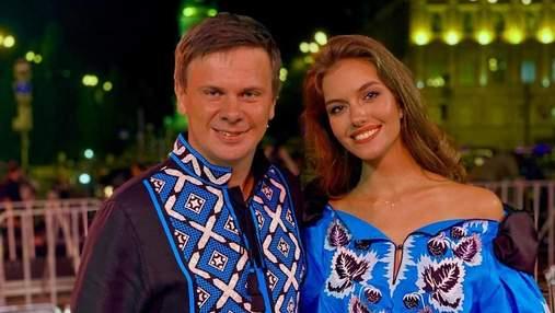 Дмитрий Комаров с женой надели вышиванки в День Независимости: фото роскошного выхода