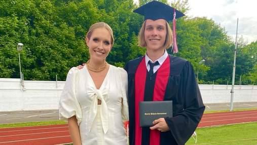 Катя Осадча показала сина від першого шлюбу: рідкісні кадри