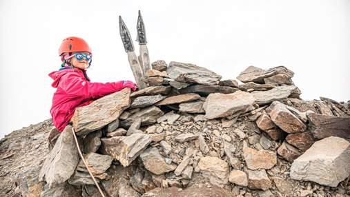 5-летняя девочка из Ровно покорила вершину Большого Кавказа: мотивирующие фото юной альпинистки