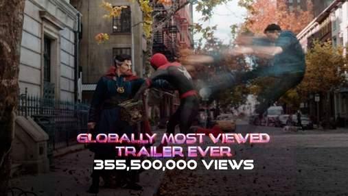 """Трейлер """"Людини-павука: Немає шляху додому"""" встановив рекорд за переглядами у всьому світі"""