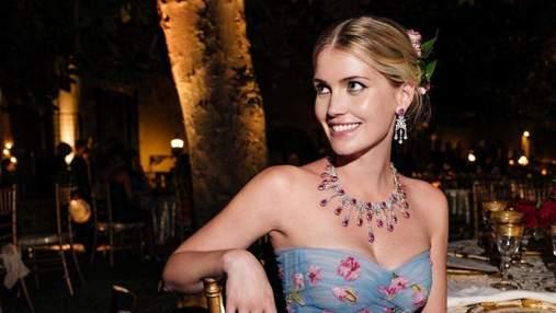 Племянница принцессы Дианы Китти Спенсер проводит медовый месяц в Италии: живописные фото