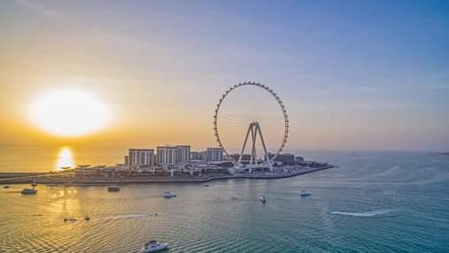 """""""Дубайське око"""": як виглядатиме найвище оглядове колесо у світі – захопливе відео"""