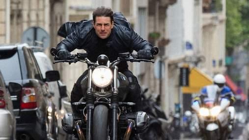 Самый опасный трюк в карьере Тома Круза показали на CinemaCon: видео сйомок