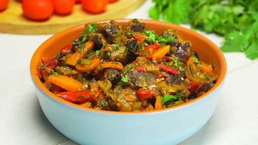 Що таке аджапсандал: рецепт класичного грузинського овочевого рагу з баклажанів