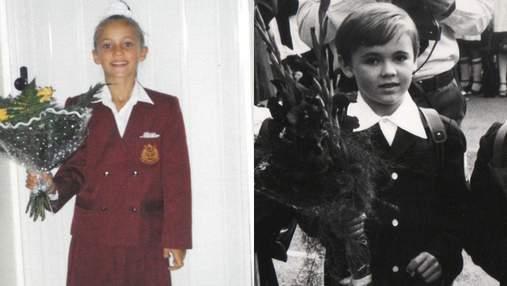 Как украинские звезды выглядели в школе: архивные фото