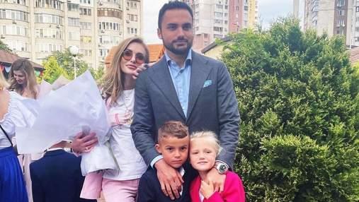 Слава Камінська разом з ексчоловіком вперше повела сина до школи: яскраві фото