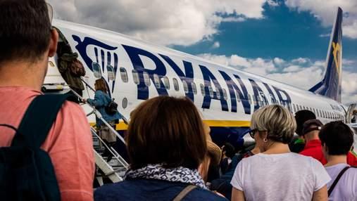 Ryanair оптимістично прогнозує швидке відновлення авіаперельотів: що планує авіаперевізник