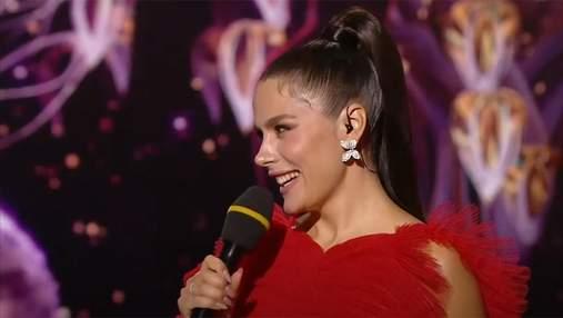 """Ведуча """"Танців з зірками"""" Іванна Онуфрійчук провела ефір в сукні від Dior"""