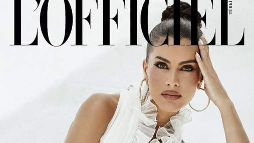 Бразилійка Каміла Коельо вразила мережу розкішними образами для глянцю L'Officiel: красиві фото