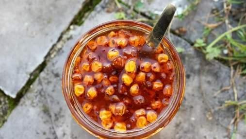 Вітамінне варення з обліпихи та шипшини: домашній рецепт на зиму