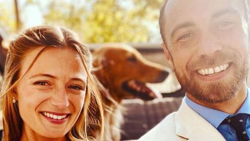 Брат Кейт Міддлтон одружився: перше фото подружжя