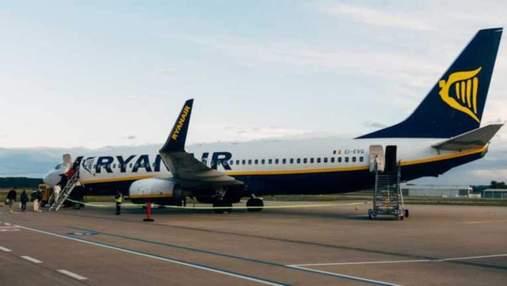 Ryanair пропонує польоти зі Львова до популярного міста Італії за дуже вигідною ціною