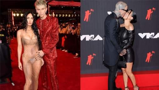 Зухвалі та романтичні: 5 пар, образи яких підкорили червону доріжку MTV Video Music Awards