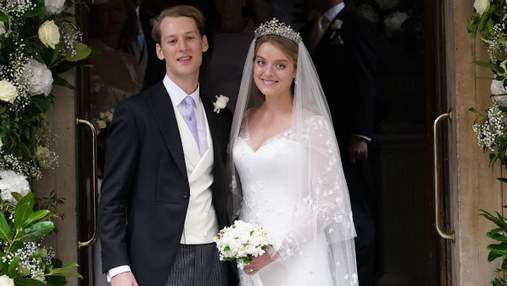 Онука британської принцеси Олександри вийшла заміж: фото королівського весілля