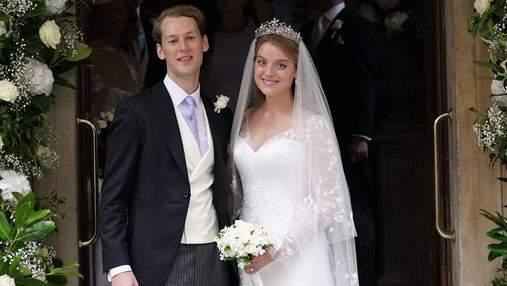Внучка британской принцессы Александры вышла замуж: фото королевской свадьбы