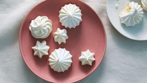 Как приготовить печенье безе: рецепт французской меренги