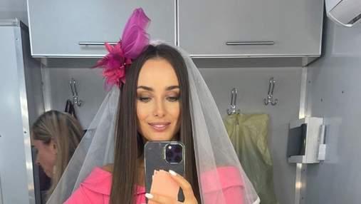 Ксенія Мішина спантеличила образом нареченої: несподівані фото у фаті