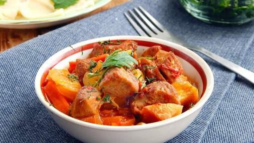 Азу по-татарськи: смачна та ситна яловичина з овочами