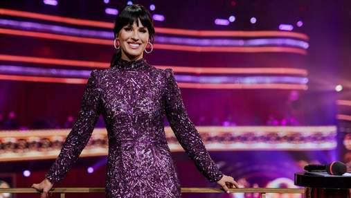 """Маша Ефросинина показала невероятный образ на """"Танцах со звездами"""": фото в платье с пайетками"""