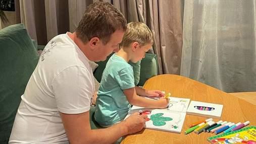 Юрий Горбунов показал, как провел вечер со старшим сыном: миловидное фото