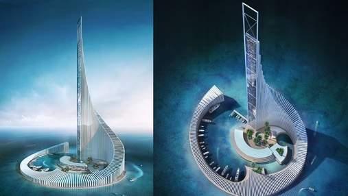 """На Занзибаре построят невероятный остров """"Башня Домино"""": захватывающие фото"""