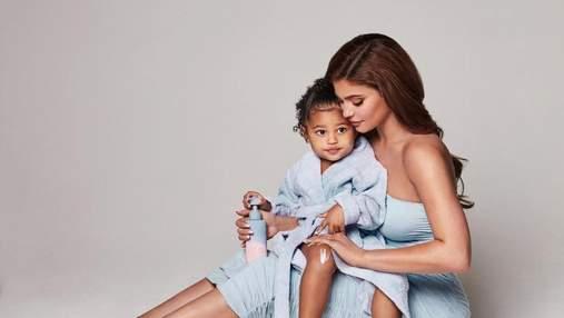Вагітна Кайлі Дженнер презентувала колекцію мрію – доглядову косметику для малюків