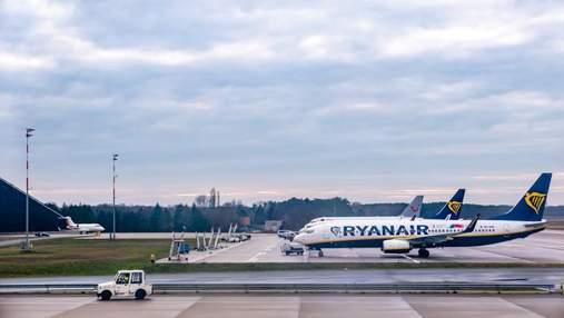 Лоукостер Ryanair намерен завезти в Украину 20 самолетов
