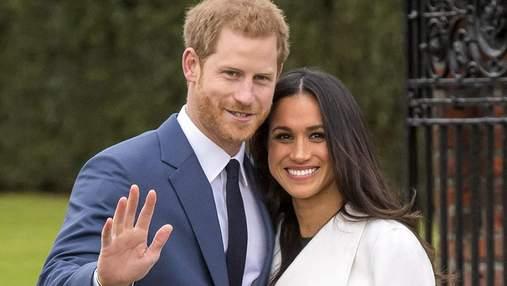 Принц Гарри и Меган Маркл впервые вышли в свет после рождения дочери