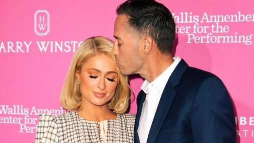 Пэрис Хилтон появилась на публике с женихом: романтические фото влюбленных