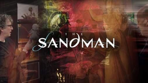 """Netflix показав перші відеокадри із довгоочікуваної кіноадаптації """"Пісочної людини"""" Ґеймана"""