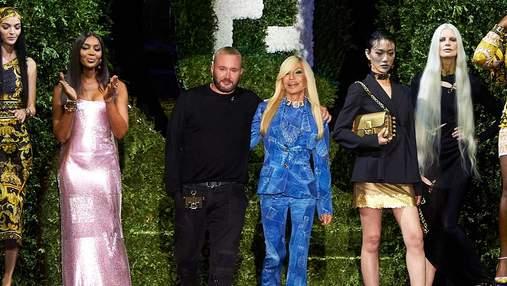 Fendi и Versace представили совместную коллекцию Fendace: фантастический показ