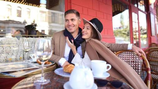 Жена Владимира Остапчука оригинально поздравила мужа с днем рождения