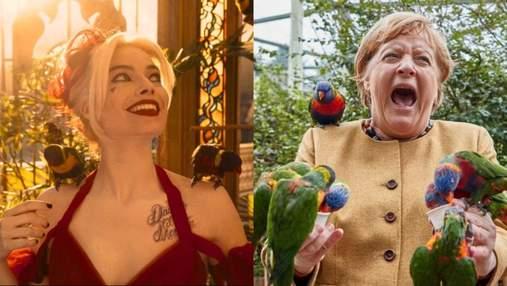 """Джеймс Ганн, режисер """"Загону самогубців"""", порівняв Ангелу Меркель з Гарлі Квінн"""