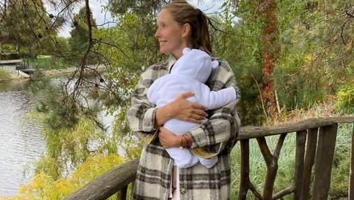 Катя Осадчая показала семейную осенью прогулку с сыновьями: трогательные фото