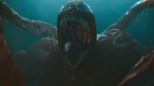 """Жахливе перетворення: нове відео """"Веном 2: Карнаж"""" демонструє трансформацію головного злодія"""